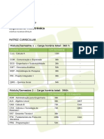 Matriz Curricular Guia Cursos 2016 EngenhariaMecatronica
