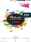 Programmation culturelle du Palladia 2017-2018