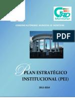 Pestrategico20112014 Gad Montufar 2011.2014