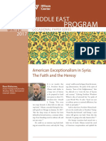 American Exceptionalism in Syria