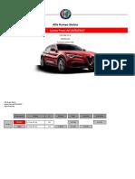 Listino Prezzi Alfa Romeo Stelvio 2017