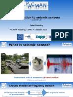 Seismic Senor Development ESR 3.2