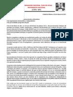 220217. Comunicado Sobre Aresión a Integrantes de MODARN - CNPA MN en Puebla