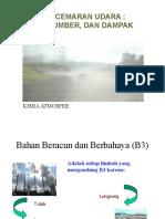 1. Pencemaran Udara Sumber Dan Dampak