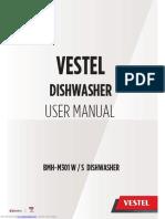 VESTEL DISH WASHER MANUAL