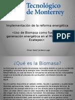 Implementación de La Reforma Energética