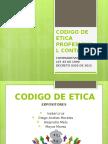 Exposicion Codigo de Etica