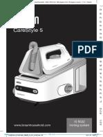 Braun CareStyle5 Ironing System IS5022 Instruction Manual PDF INT