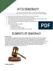 elements of democracy