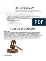 elements of democracy