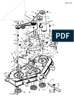Murray Parts Manual PDF - Model 52100x92A Garden Tractor