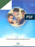 1-Punjab Drinking Water Policy 2011