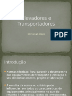 Elevadores e Transportadores