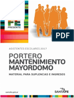 Manual Portero Mantenimiento Mayordomo