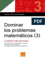Dominar Los Problemas Matematicos 3 MUESTRA ESP