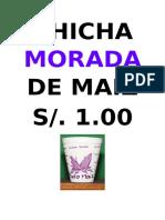Chicha Morada de Maiz