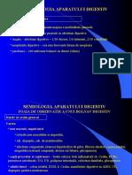 Digestiv - Curs 1 - Semiologia Aparatului Digestiv Fo, Spt-15.04