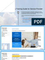 Training Guide for Service Provider 2.5
