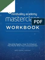 Bending Reality Masterclass by Vishen Lakhiani Workbook