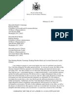 Schneiderman Voter Fraud Letter 022217