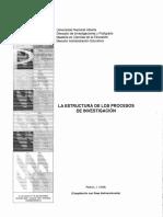 La Estructura de los Procesos de Investigacion