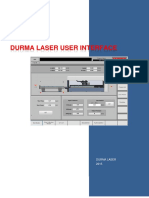 6_durma Laser User Interface