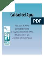 Calidad Del Agua_spanish