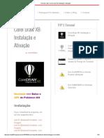 Corel Draw X8_ Instalação e Ativação
