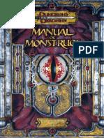Manuales Basicos Manual de Monstruos 3 5