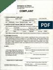 Curt Smith Ethics Complaint