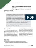 Etiología Del Autismo, El Continuo Idiopático-sindrómico Como Tentativa Explicativa