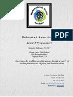 symposium program - 2017