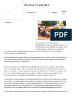 Os Valores Humanos Na Escola - Brasil Escola