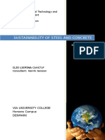 Sustainability of Steel and Concrete Written by Ilze Liepina