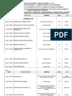 Programacion de Primeros Examenes Parciales Impar-2017