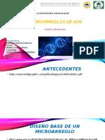 Microarreglos de ADN Cabrera Molina