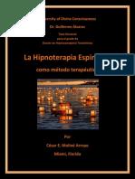 hipnoterapia espiritista