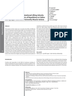 Izquierdo Et Al (2006) Effects of Loading in Unitentinal Lifting Velocity