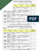 1. Rubrica de Apuntes, Desarrollo de Actividades y Evaluación en Clase