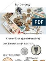The Swedish Currency