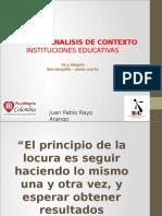 Taller de Analisis de Contexto Colegios 14.02.17