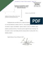 USA v Roberto Rincon Abraham Shiera - USDC SDT - Denial of PDVSA Restitution - 22 Feb 2017