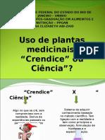 Apresentacao de Plantas Medicinais