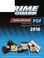 Prime Guard Filter Application Guide 2016