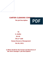 85241938 Carter Cleaning Company Job Description G Anitha 2t1 04 Tps 2nd Shift