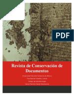 Revista de Conservacion de Documentos