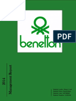 Global Business Practice Assignment - Benetton Management Report