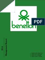 Global Business Practice Assignment - Benetton Management Report