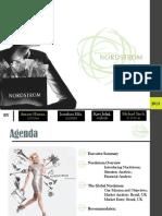 Global Marketing Presentation - Nordstrom