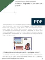 Realizar Un Barrido o Limpieza Al Sistema de Aire Acondicionado _ Aires Acondicionados